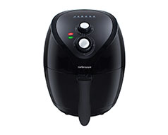 "Mellerware Air Fryer With Timer Manual Plastic Black 2.6L 1400W ""Vitality"""