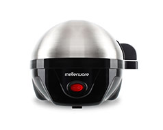 "Mellerware Egg Boiler 7 Egg Capacity Stainless Steel And Black 350W ""Egg Master"""