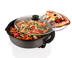 Alonzo 30Cm Electric Frying and Pizza Pan