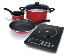 Capri Induction Cooker Pot Set
