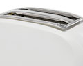 White Eco 2 Plastic Toaster