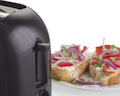 Hot Slice Cooltouch Black Toaster