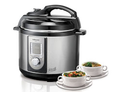 Juno 5L Electric Pressure Cooker