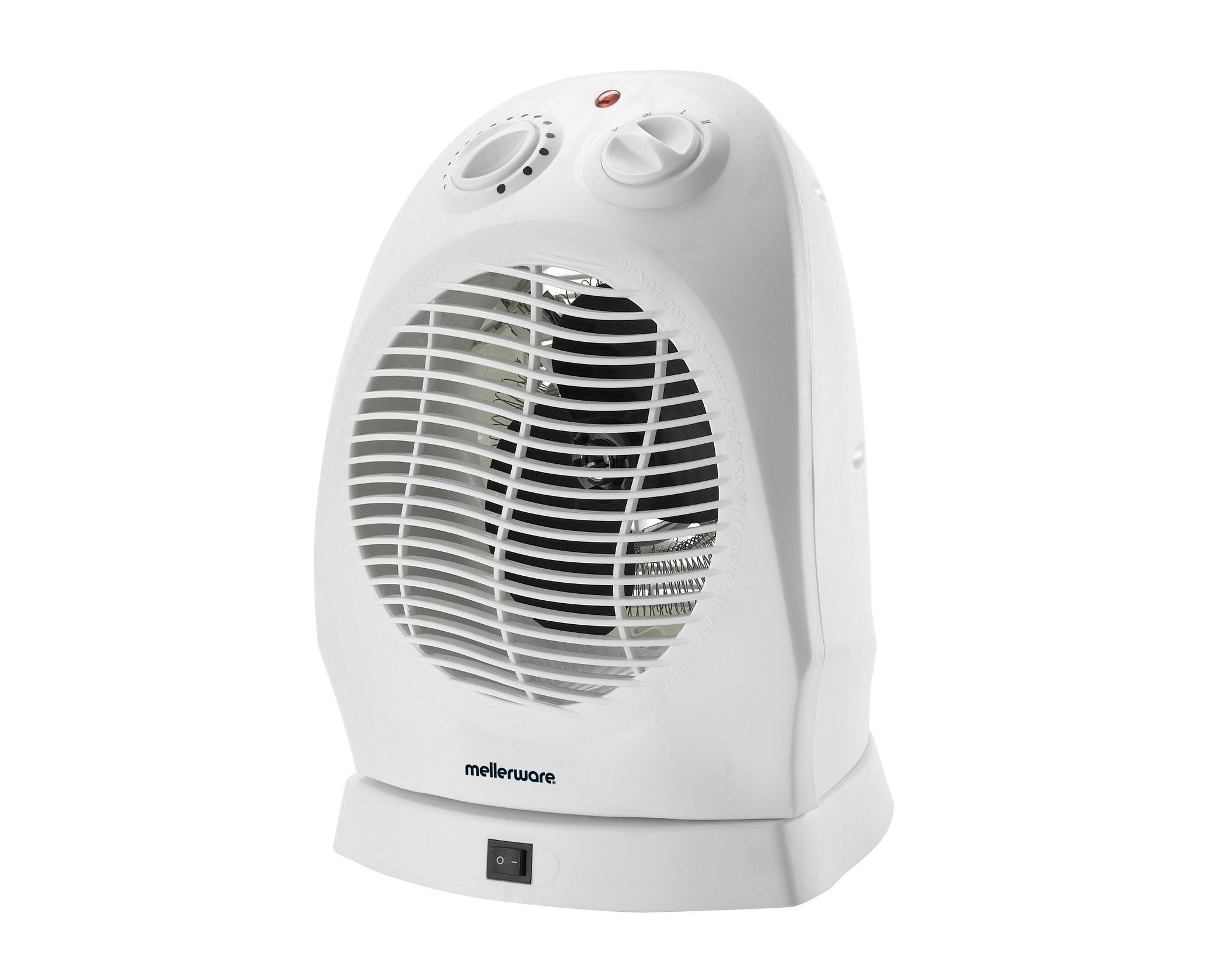 Oscilating Fan Heater Mellerware 35220 Mellerware