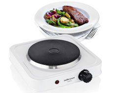 Single White Hotplate Stove