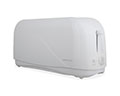 White Cooltouch 4 Slice Toaster